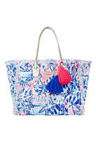 Lilly Pulitzer Gypset Frayed Tote