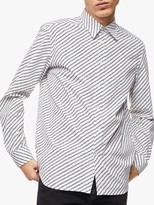 Diesel Copyright Print Regular Fit Shirt, Grey