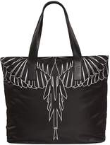 Marcelo Burlon County of Milan Asier Printed Nylon Tote Bag