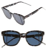 Christian Dior Women's Diorsteps 55Mm Retro Sunglasses - Black