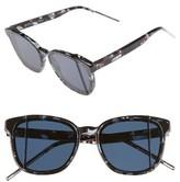 Christian Dior Women's Steps 55Mm Sunglasses - Black