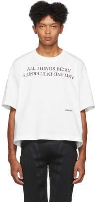 Ambush White All Things Begin T-Shirt