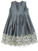 Isabel Garreton Infant Girl's Sleeveless Taffeta Dress