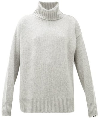 Extreme Cashmere No.20 Oversized Stretch-cashmere Roll-neck Sweater - Grey