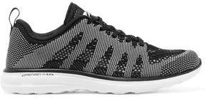 APL Athletic Propulsion Labs Paneled Stretch-knit Sneakers