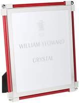 "William Yeoward Classic Shagreen Scarlet Photo Frame - 8""x10"