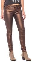 Buffalo David Bitton Shimmer Skinny Jeans - Ankle Zips (For Women)
