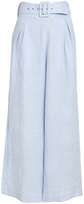 Faithfull The Brand Lena Wide-Leg Linen Pants