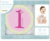 Pearhead Pink Baby Milestone Sticker Set