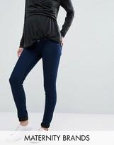 Mama Licious Mama.licious Mamalicious Under The Bump Skinny Jeans
