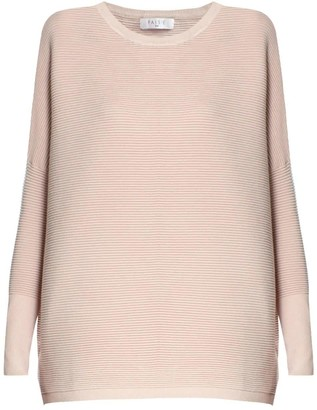 Paisie Ribbed Jumper in Blush