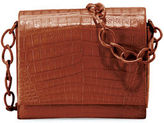 Nancy Gonzalez Gio Crocodile Chain Crossbody Bag