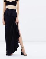 Balance Frill Maxi Skirt