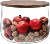 LSA International City Bowl & Walnut Lid 32cm
