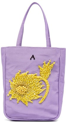 Ashley Williams Embellished Faille Tote