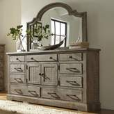 Progressive Furniture Meadow Dresser in Weathered Grey