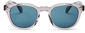 Oliver Peoples Unisex Sheldrake Square Sunglasses, 47mm