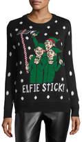 Chelsea & Theodore Elfie Stick Crewneck Sweater