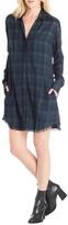 Michael Stars Kelsey Plaid Shirt Dress
