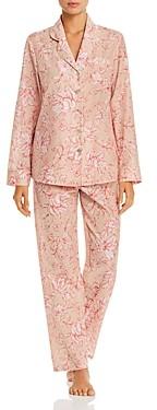 Ginia Silk-Cotton Pajama Set