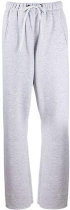 Natasha Zinko Studded-Pocket Track Pants