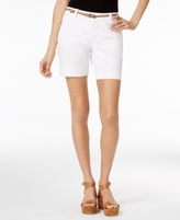 Lee Platinum Lee Platinum Petite Georgia Belted Shorts, A Macy's Exclusive