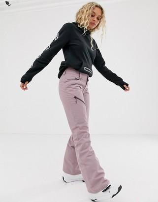 Volcom Snow Hallen ski trouser in lilac