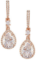 Nadri Cubic Zirconia Pear Drop Statement Earrings