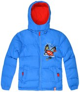 Marvel Boys Official Spiderman Puffa Coat New Kids Padded Winter Jacket