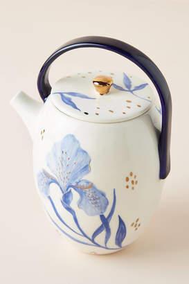 Tile Tile Testo Azure Teapot