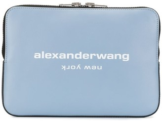 Alexander Wang Logo Print Clutch