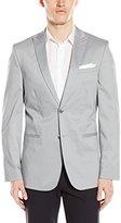 Calvin Klein Men's Slim Cotton Tech Sportcoat