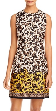 Kobi Halperin Angelina Printed Silk Sheath Dress