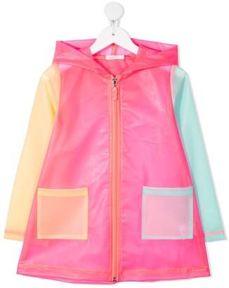 Billieblush Colour-Block Hooded Jacket