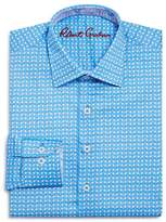 Robert Graham Boys' Printed Check Dress Shirt - Big Kid