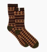 UGG Men's Mixed Houndstooth Crew Sock