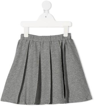 Il Gufo Elasticated Waist Pleated Skirt