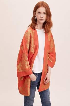 Seen Worn Kept Kaede Jacquard Kimono
