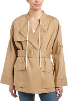 Helmut Lang Oversized Trench Jacket