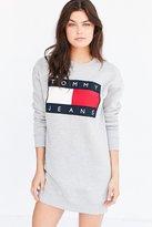 Tommy Jeans For UO '90s Logo Sweatshirt Mini Dress
