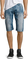 True Religion Ricky Denim Cutoff Shorts, Indigo Tide