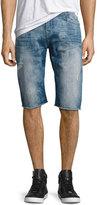 True Religion Ricky Denim Cutoff Shorts, Indigo Tide
