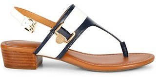 Tommy Hilfiger Keely Stacked Heel Thong Sandals