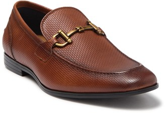 Steve Madden Emon Embossed Bit Leather Loafer
