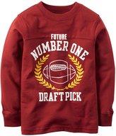 Carter's Slogan Top (Toddler/Kid) - No 1 Draft Pick-5