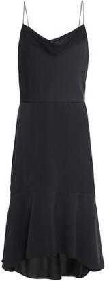 Alice + Olivia Adrina Asymmetric Ruffled Cady Dress