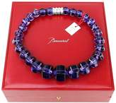 Baccarat Brand New Jewelry Sherazade Large Parma Violet Necklace St. Silver New France