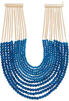 Rosantica Raissa Gold-tone Quartz Necklace - Blue