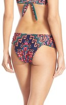 Mara Hoffman Women's Ruched Cheeky Bikini Bottoms