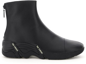 Raf Simons Cyclon Zipped Ankle Boots